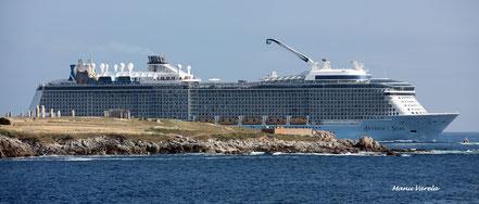 La Coruña, recibe por primera vez al Anthem of the Seas