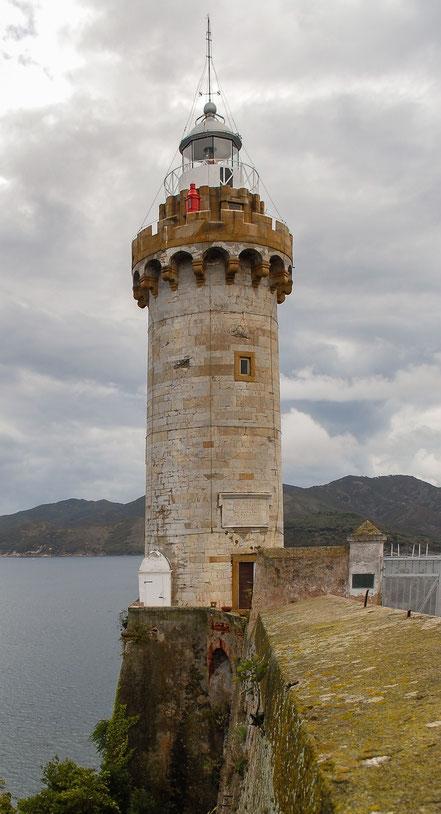 Far Portoferraio, Illa d'Elba. Itàlia.