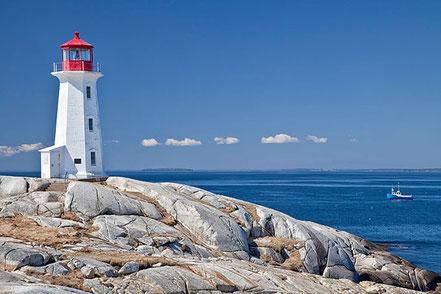 Far de Peggy's Point, Nova Escòcia, Canadà