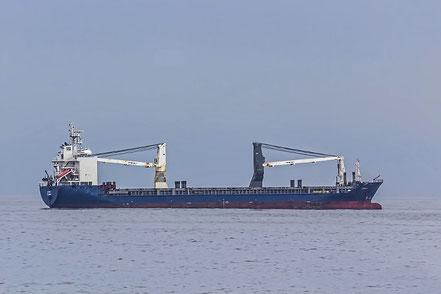 El vaixell de càrrega general Lisanna, de bandera Antigua & Barbuda, procedent de Belfast, Regne Unit. 11.10.16