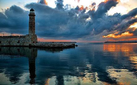Far Rethymnon, Kriti, Grècia.