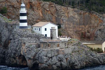 Far de la Creu, Port de Soller, Mallorca, Illes Balears.