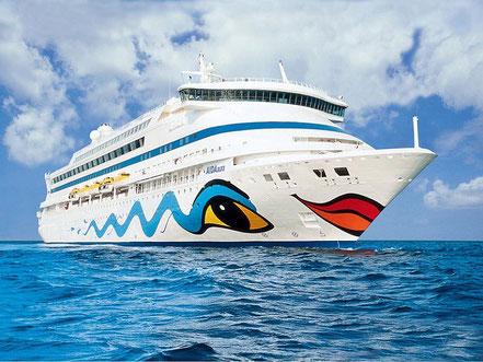 El vaixell de creueristes Aida Aura amb bandera de Italia procedent Livorno, Italia. 17.05.17 i el 14.06.17.