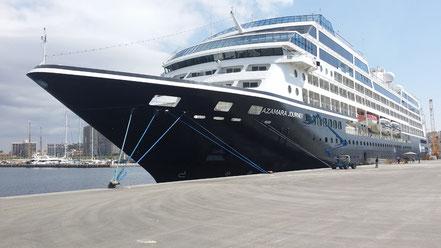 El vaixell de creueristes Azamara Journey , 26.04.2016