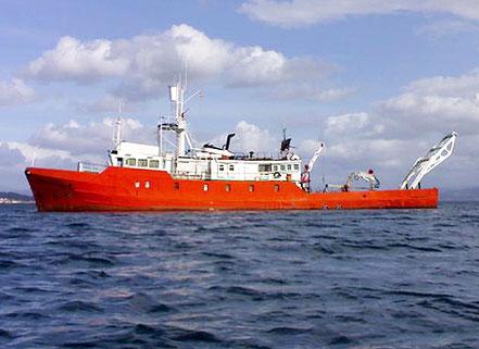 El vaixell d'investigació marina Investigador I, amb bandera espanyola, procedent d'Algesires i Gibraltar. 14.08.16 i 26.08.16 i 11.07.17.