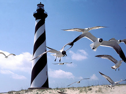 Far de Cap Hatteras, Carolina del Nord.