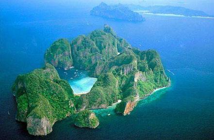 Illa Ko Phi Phi Leh, Tailàndia.
