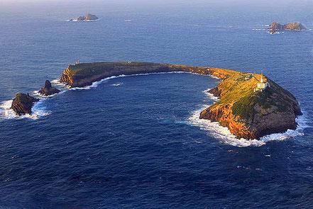 Far de les illes Columbretes, Costa de Llevant, Espanya.