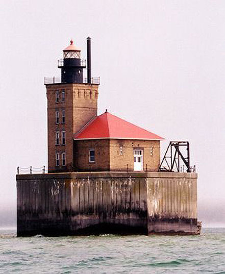 Far del Filó, Port Austin, Llac Huron, Michigan.