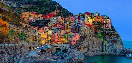 Manorola, Itàlia.