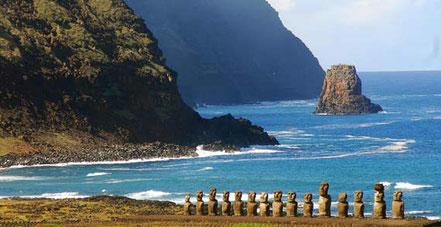 Illa de Pasqua, Xile.