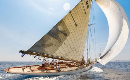 Moonbeam III, guanyador de la VIII Puig Vela Clàssica en Big Boats.