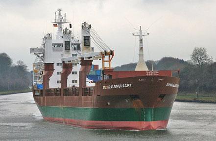 El vaixell de càrrega general Admiralengracht, de bandera holandesa, procedent de Motril, Espanya. 29.08.16.