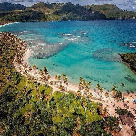 Cala Rincón, Samaná, Republica Dominicana.
