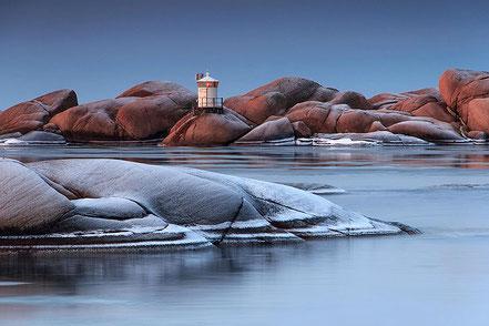 Far de Stangholmen a Lysekil, Suècia.