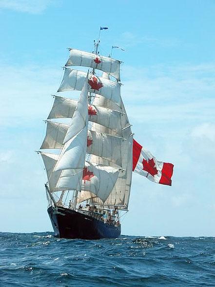 La nau Concordia de Canadà.