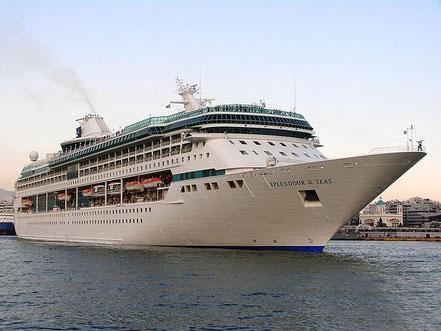 El vaixell de creueristes Tui Discovery amb bandera de Malta procedent Marina di Carrara, Italia. 19.05.17 i 20.07.17.