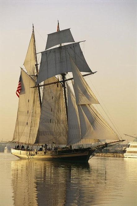 L'orgull de Baltimore vaixell Clipper.