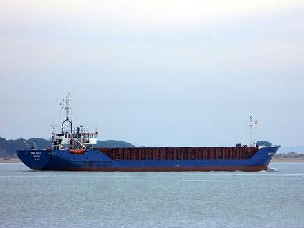 El vaixell de càrrega general Melissa, de bandera de les Illes Cook, procedent de Melilla. 23.05.17.