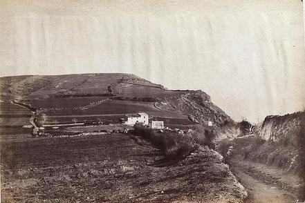 Antic camí a la Cala Margarida i La Fosca.