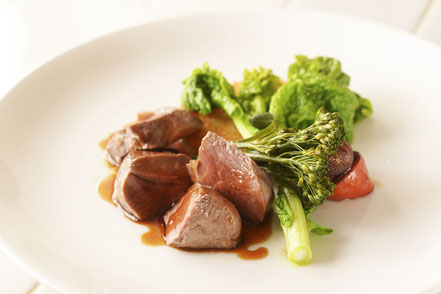 伊豆産鹿肉のロースト