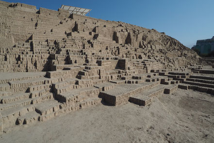 Above: Museo Larco, Below: Huaca Pucllana