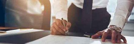 Vertragsrecht - kompetente Anwälte für alle Verträge in Rastatt und Bühl
