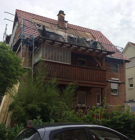Rückbau Dach