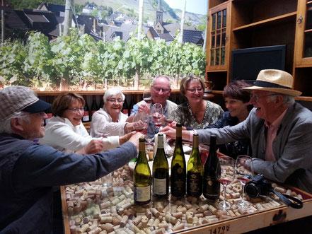 Weinprobe im Ahrweindepot am Ahrweiler Marktplatz