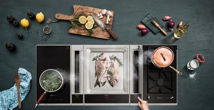 Neff Neuheiten, seitlicher Kochfeldabzug