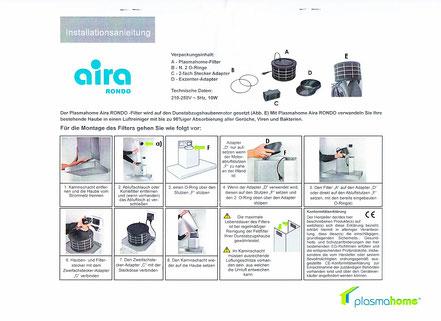 aira Rondo Installationsanleitung
