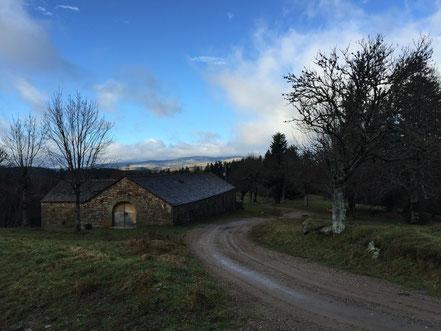 La montée vers Le Bougès