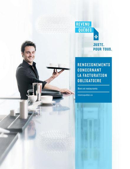 Revenu Québec document sur la facturation obligatoire pour bars et restaurants IN-575