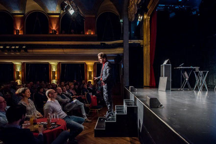 Live Show des Mentalmagier Christoph Kuch
