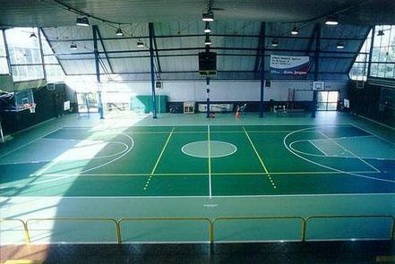 campo da basket pallacanestro volley pallavolo