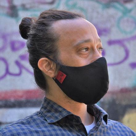 Schnabelmaske, Mund- und Nasenbedeckung, von Stef Fauser Design Berlin