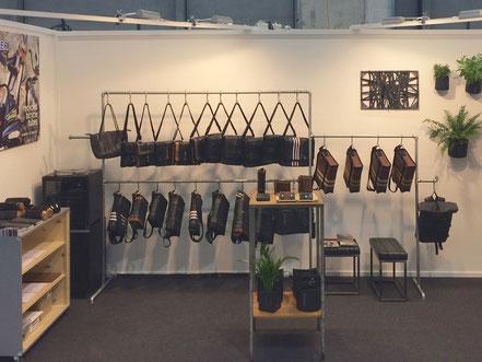 Stef Fauser Design aus Berlin präsentiert sich zum zweiten Mal im Rahmen der Konsumgütermesse Ornaris auf dem Bernexpo-Gelände. Foto: Stef Fauser