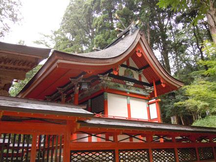 国指定重要文化財御形神社(みかたじんじゃ)本殿