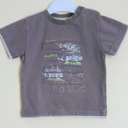 T-shirt à manches courtes garçon 24 mois