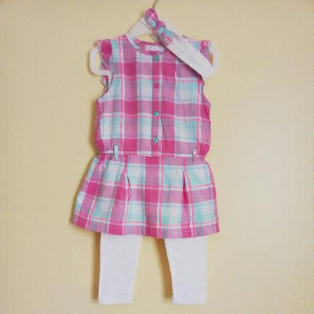 vetement bébé occasion. Ensemble robe d'été fille 18 mois
