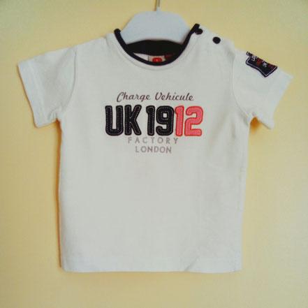 vetement occasion bébé. T-shirt bébé garçon 9 mois