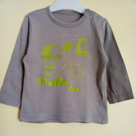 t-shirt à manches longues garçon 18 mois