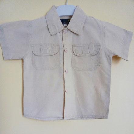 Chemise à manches courtes Eliot et Capucine 18 mois