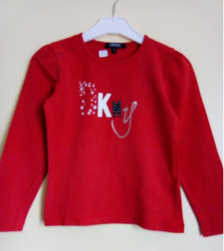 T-shirt à manches longues DKNY 6 ans