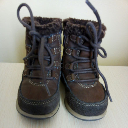Chaussures montantes T:21 Pat et Ripaton
