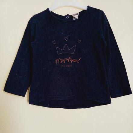 T-shirt à manches longues TAO fille 2 ans