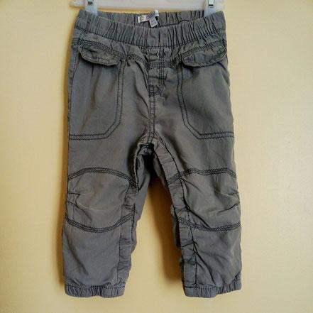 Pantalon en toile doublé kiabi 18 mois