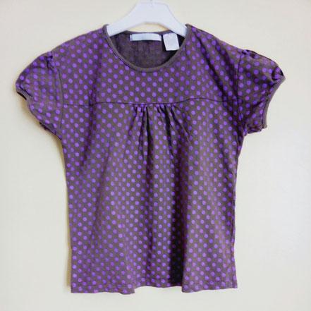 T-shirt à manches courtes fille 12 ans gémo