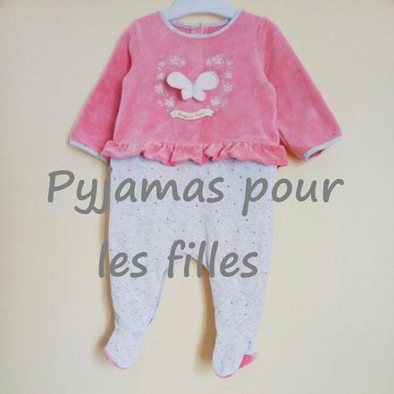 vetement occasion enfants. Pyjamas filles pas chers