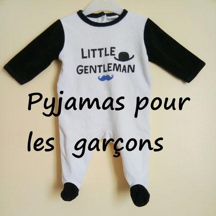 vetements occasion enfants. Pyjamas garçons pas chers